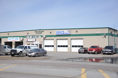 Exterior View of Dougs Automotive Solutions